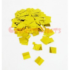 Oh!FX Metallic SQUARE confetti 17mm Gold
